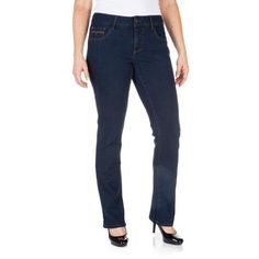 Faded Glory Women's Easy Fit Straight Leg Jeans