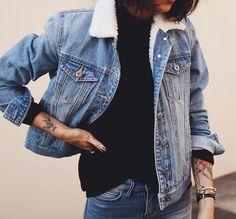 Pepa Mack - Bardot denim jacket