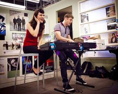 Karmin crashes the party at VH1 headquarters!