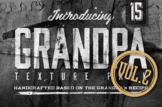 """15 Grandpa's Texture Vol.2 Graphics 15 Grandpa's Texture (Vol.2)Another coffee break and Grandpa takes an old photo from his wallet, """" by Ian Irwanwismoyo"""
