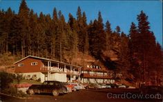 Shady Rest Motel and Cafe Coeur D'Alene Idaho. I always looked for it when driving up around the Lake. Coeur D Alene Lake, Coeur D'alene Idaho, Motel, East Coast, Rest, Cabin, Explore, House Styles, Travel