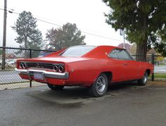 Curbside Classic: 1968 Dodge Charger Six – Rarer Than An (Original) Hemi Charger Muscle Magazine, 1968 Dodge Charger, Chevy Muscle Cars, Plymouth, Mopar, Badass, Antique Cars, Classic Cars, The Originals