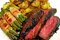 Flank Steak vom Grill