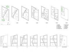 특이한 집구조 3층 협소주택 꼬빌 현재 진행중인 프로젝트 가평에 1억으로 집짓기 by 꼬빌 주차장이 포함된 정면 뷰 입니다. 정형화된 사각형의 집들만 보다가 이번 주택을 감상하시니 어떤 느낌이 드시나요?..