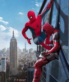 spiderman & deadpool/ peter parker & wade wilson