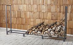 8ft Firewood Rack