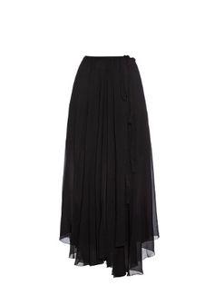 Amery fluid wrap skirt  | Isabel Marant Étoile | MATCHESFASHION.COM