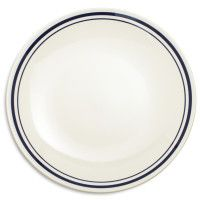 Sainte-Germaine Blue Dinner Plate - From The Home Decor Discovery Community at www.DecoandBloom.com
