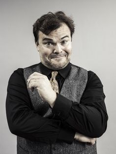 Jack Black photographed by Michael Muller at Comic Con San Diego, 2014