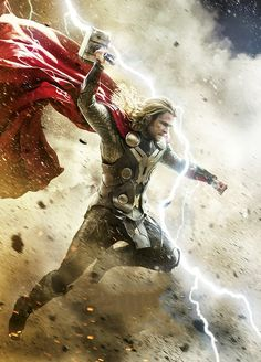 """Thor: The Dark World"" advance poster art"