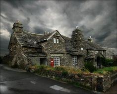 United Kingdom.  Holy Island, Northumberland