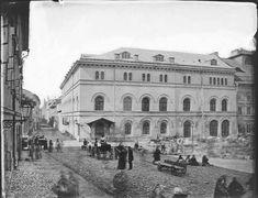 Teatr Stary (przed przebudową), fot. I. Krieger, ok. 1875.