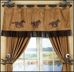 From classic Southwest patterns, to lone stars, and beyond, your next set of Western curtains and window treatments is right here at Lone Star Western Decor. Western Style, Bedroom Themes, Bedroom Decor, Bedroom Ideas, Country Decor, Rustic Decor, Western Curtains, Cowboy Bedroom, Western Rooms