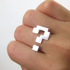 Super Mario Bros question mark ring