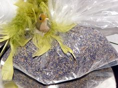 Organic Lavender Buds 4 Oz Bag-Great as wedding favors.