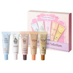 Buy 'Etude House – Best 5 Face Collection (5 items): BB Cream x 4   Volumer' with Free International Shipping at YesStyle.com. Browse and shop for thousands of Asian fashion items from South Korea and more!