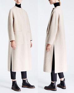 Mode mantel herbst 2017 max mara warme modische m . Muslim Fashion, Hijab Fashion, Fashion Outfits, Womens Fashion, Fashion Trends, Fashion Coat, Mode Batik, Coats For Women, Jackets For Women