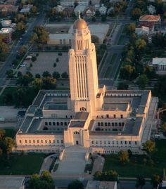 Lincoln Nebraska State Capitol Building