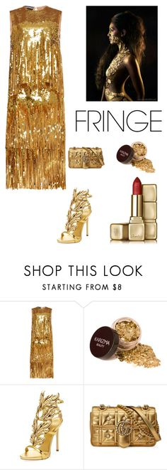 """""""cocktail mini"""" by kotnourka ❤ liked on Polyvore featuring Rochas, Giuseppe Zanotti, Gucci and Guerlain"""