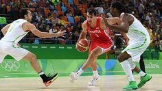 brasil x croácia; basquete masculino; olimpíada 2016; Dario Saric; Vitor Benite…