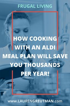 Take out 20 freezer bags, then throw food from ALDI in them that only cost you $150.  Then throw in the freezer. That is how simple an ALDI meal plan is! via @iatllauren