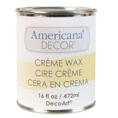 DecoArt Americana Decor Creme Wax - at The Home Depot - available in several shades.
