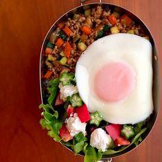 ほ〜のお弁当♪  20150610「野菜たっぷり弁当」