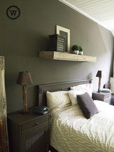 slaapkamer #landelijke stijl,