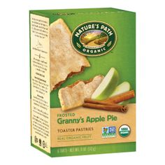 Frosted Granny's Apple Pie Toaster Pastries | Nature's Path
