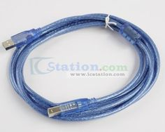 USB Cable A-B Male to Female USB A to UAB B 3m for Arduino  http://www.icstation.com/product_info.php?products_id=2402
