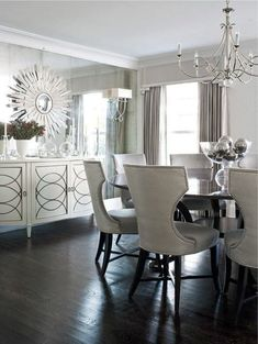 Stunning Cabinets for Your Dining Room Decor | see more at http://diningandlivingroom.com/modern-dining-room-consoles-ideas/