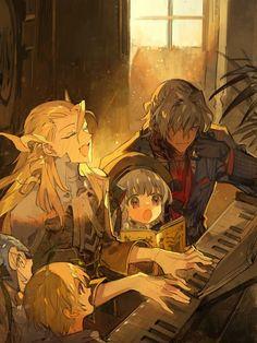 Ok now everyone sing along~ & Manga Manga Art, Manga Anime, Antonio Salieri, Fate Stay Night Anime, Familia Anime, Fate Servants, Susanoo, Fate Anime Series, Fate Zero
