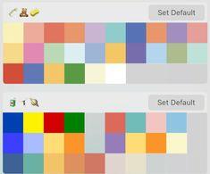 Flat Color Palette, Color Palette Challenge, Colour Pallette, Pantone Colour Palettes, Pantone Color, Tru Colors, Emoji Combinations, Photo Collage Maker, Mood And Tone