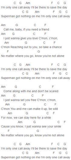 Chords Part 1 Somebodys Heartbreak By Hunter Hayes Sheet Music