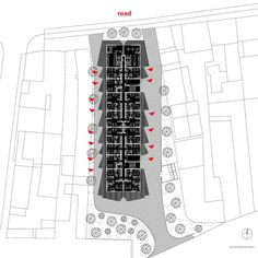 The location is on the edge of the planned 650 apartments which was finished year ago. Also this apartment block is social type and was sold to Slovenian Ho...