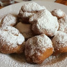 Beignets at Rue Cler Restaurant and Bakery Cafe in Durham, NC