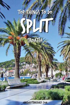 Top Things to do in Split and Best Sight to Visit on a Short Stay Croatia Itinerary, Croatia Travel Guide, Europe Travel Guide, Best Beaches In Split, Amazing Destinations, Holiday Destinations, Montenegro, Italy Coast, Croatian Coast