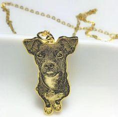925 benutzerdefinierte Hund Portrait Halskette Pet Portrait | Etsy Custom Earrings, Custom Name Necklace, Custom Dog Portraits, Pet Portraits, Gifts For Pet Lovers, Pet Gifts, Unique Christmas Gifts, Unique Gifts, Pet Memorial Gifts