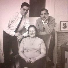 Johan y su familia.