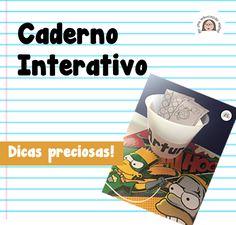 Não deixe de ler as DICAS PRECIOSAS de Janaina Spolidorio sobre o CADERNO INTERATIVO!