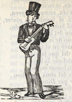 Hombre tocando la guitarra.