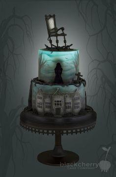 Woman In Black Cake