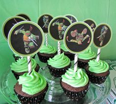 Oodles of super fun Ninja Turtle ideas for your little one's big day.