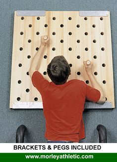 CLIMBING PEG BOARDS