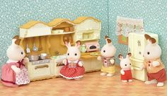 Our unique Japanese building toys are super fun for creative builders of all ages and skill levels. Find your new favorite set today at Plaza Japan! Guinea Pig Breeding, Guinea Pigs, Sylvanian Families House, Sylvania Families, Calico Critters Families, Family Furniture, Barbie Toys, Sensory Play, Building Toys