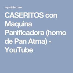 CASERITOS con Maquina Panificadora (horno de Pan Atma) - YouTube