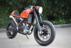 KTM 525 café racer - Cool Motorcycles - Visordown