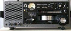 Shortwave Receivers Sony ICF-6800W