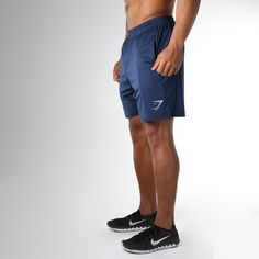 Gymshark Transcendent Short - Sapphire Blue/Light Grey