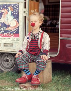 Clown by David Handley Sewing Lessons, Photographs Of People, Photographing Kids, Portrait Photo, Fashion Labels, Photo Tips, Little Boys, Childhood Memories, Cool Kids